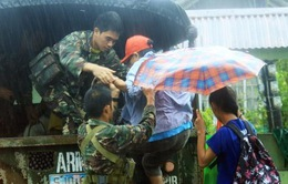 Bão Melor gây mất điện 7 tỉnh miền Trung Philippines