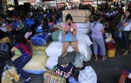 Bão Noul đổ bộ Philippines, 2 người thiệt mạng