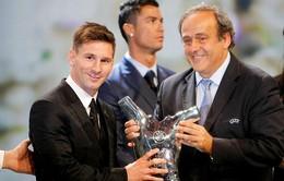 Messi: Tôi không thể thành công nếu không có các đồng đội ở Barca