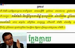 Campuchia bắt giữ Thượng nghị sĩ xuyên tạc Hiệp ước với VN
