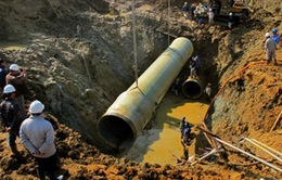 Đề nghị truy tố 9 bị can vụ vỡ đường ống nước Sông Đà