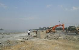 Tạm dừng thi công dự án lấp sông Đồng Nai