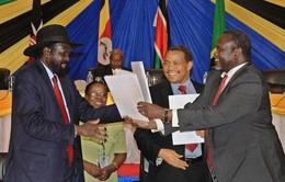 Nam Sudan: Thỏa thuận chia sẻ quyền lực