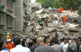 Trung Quốc: Nhà 9 tầng đổ sập, 1 người thiệt mạng
