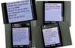 Xử phạt 3 doanh nghiệp phát tán tin nhắn rác