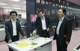Tổng Giám đốc Đài THVN thăm và chúc Tết các đơn vị trong đêm giao thừa