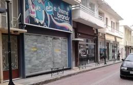 Hy Lạp: Hàng loạt DN tiếp tục đóng cửa do kinh tế khó khăn