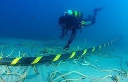 Đầu tháng 5, khắc phục xong sự cố đứt cáp quang biển