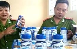 Hà Nội: Phát hiện container sữa nước Ensure nhập lậu