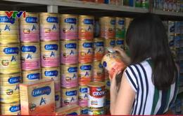 Giá sữa bán lẻ đồng loạt giảm từ 10/5