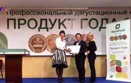 Sản phẩm sữa Việt Nam đoạt 3 giải Vàng tại hội chợ Nga