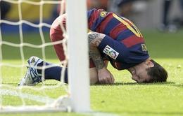 Cận cảnh chấn thương khiến Messi nghỉ 2 tháng