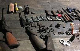 Phát hiện xưởng chế tạo súng, đạn trái phép tại Quảng Ninh