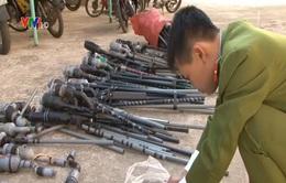 Gia Lai: Báo động tình trạng người dân sử dụng súng tự chế