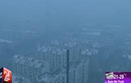 Sương mù dày đặc bao phủ Đông Bắc Trung Quốc