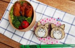 Ngộ nghĩnh nghệ thuật tạo hình từ… sushi