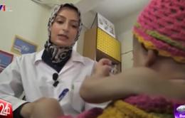 Tỷ lệ trẻ suy dinh dưỡng ở vùng chiến sự Trung Đông tăng mạnh