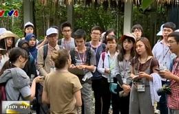 Sinh viên châu Á tìm hiểu đa dạng sinh học Việt Nam