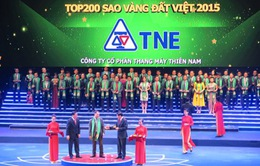 200 doanh nghiệp xuất sắc nhận giải Sao Vàng đất Việt 2015