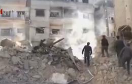 Syria: Quân đội chính phủ oanh kích quân nổi dậy