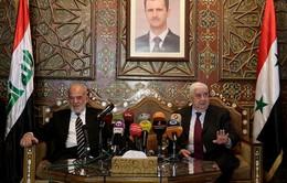 Syria, Iraq tăng cường hợp tác chống khủng bố
