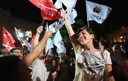 Đảng cánh tả Syriza thắng trong cuộc bầu cử ở Hy Lạp