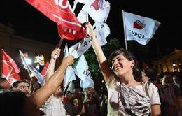 Hy Lạp: Đảng Syriza giành chiến thắng cuộc tổng tuyển cử