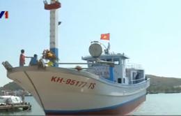 Hạ thủy tàu cá đầu tiên đóng từ vốn vay theo Nghị định 67