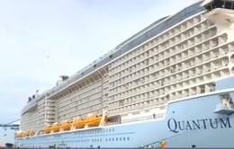 Hơn 6.000 du khách tàu Quantum of the seas tham quan TP.HCM