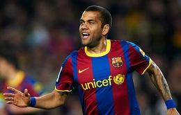 Phớt lờ PSG, Dani Alves đạt thỏa thuận gia hạn với Barcelona