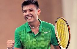 Lên hạng 913, Lý Hoàng Nam lập kỉ lục mới cho quần vợt Việt Nam