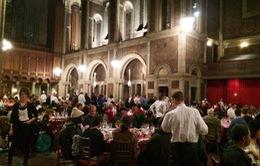 Bữa ăn miễn phí cho người vô gia cư ở New York dịp lễ Tạ ơn