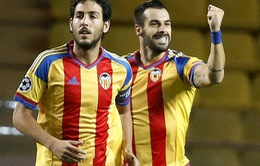 Play-off Champions League 2015/16: Valencia lập kỳ tích cho La Liga