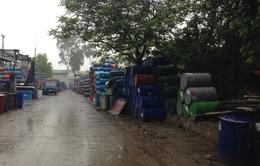 Hà Nội: Nhiều cơ sở tái chế thùng phuy gây ô nhiễm môi trường