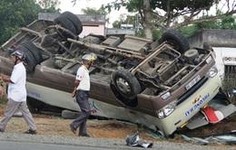 Lâm Đồng: Tai nạn xe khách, 18 người bị thương