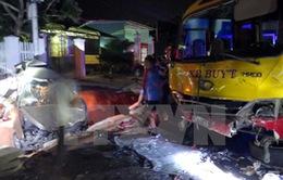 Kon Tum: Tai nạn giao thông liên hoàn, 7 người thương vong