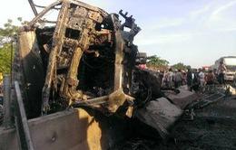 Thanh Hóa: Tai nạn giao thông liên hoàn tại Tĩnh Gia