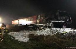 Tai nạn tàu hỏa kinh hoàng tại Đức, nhiều người thương vong