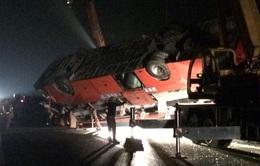 Tai nạn nghiêm trọng trên cao tốc Pháp Vân - Cầu Giẽ, 2 người tử vong