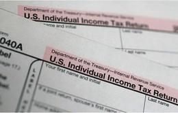 300.000 tài khoản hoàn thuế của người Mỹ bị đánh cắp thông tin
