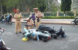 Tai nạn giao thông tháng 1/2015 giảm trên cả 3 tiêu chí