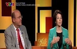 Chuyên gia quốc tế giải đáp về biến đổi khí hậu toàn cầu (21h30, VTV4)