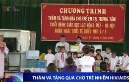 Thăm và tặng quà cho các em nhỏ nhiễm HIV/AIDS tại Ba Vì, Hà Nội