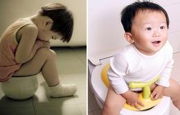 Những sai lầm khiến trẻ bị táo bón