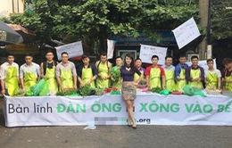 Ngày hội Tạp dề xanh thu hút nhiều bà nội trợ