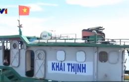 Phát hiện 50.000 lít dầu DO không rõ nguồn gốc trên tàu Khải Thịnh