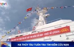 Hạ thủy tàu tuần tra tìm kiếm cứu nạn