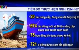 Đến 15/6, cả nước mới có 20 tàu cá đóng mới theo Nghị định 67
