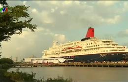 Tàu thanh niên Đông Nam Á 2015 đến TP.HCM