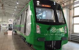 Trưng bày mẫu tàu điện tuyến Cát Linh - Hà Đông